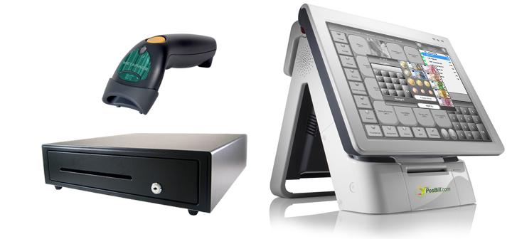 PosBill Komplett-Kasse Handel mit Kassensoftware