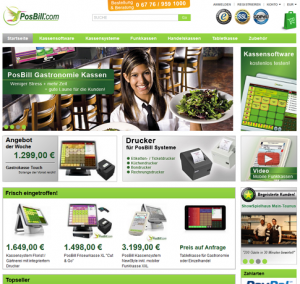 PosBill Kassensysteme Onlineshop feiert Neueröffnung