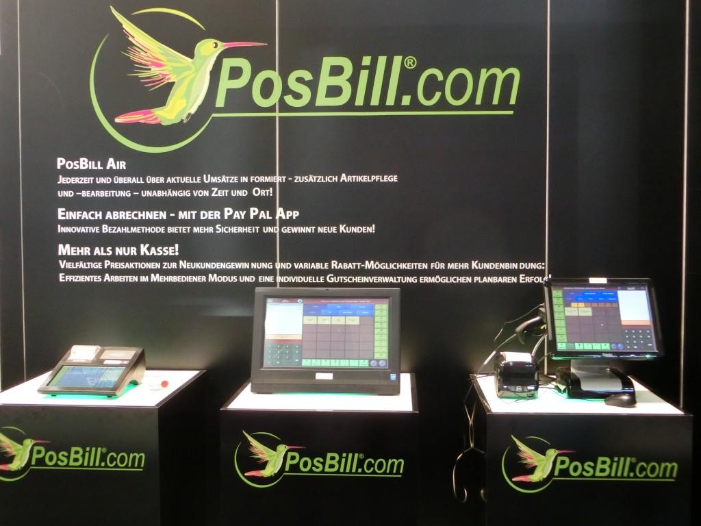 PosBill Kassensoftware Halle 9 Stand D 14 - EuroCIS 2015