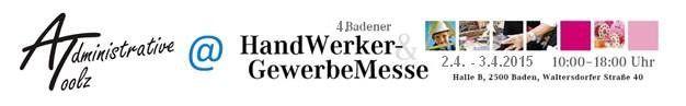 Administrative Toolz auf der Handwerker- und Gewerbemesse in Baden