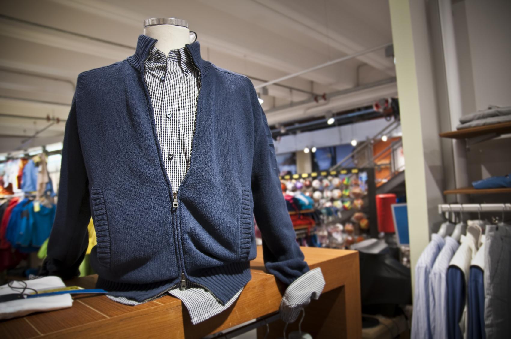 Auch Boutiquen der Textilbranche profitieren von der WaWi Lösung