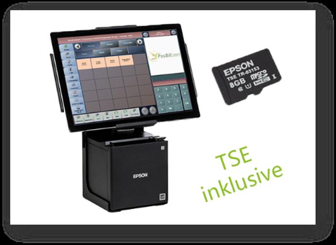 Mit dem PosBill-Bundle inklusive TSE, bist Du bestens für alle Anforderungen ausgestattet.