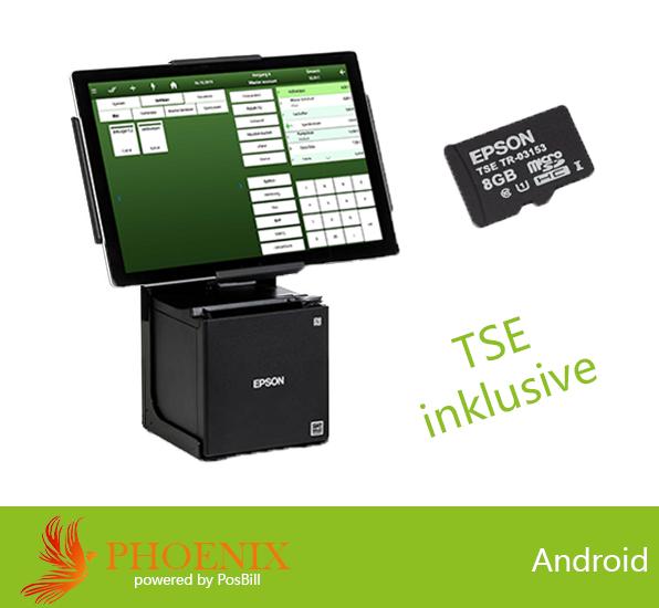 Attraktives Kassensystem mit der PosBill-PHOENIX-Kassensoftware